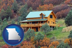 Missouri - a mountainside vacation home